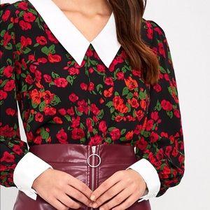 💕NEW💕 Cute Flower Print Blouse